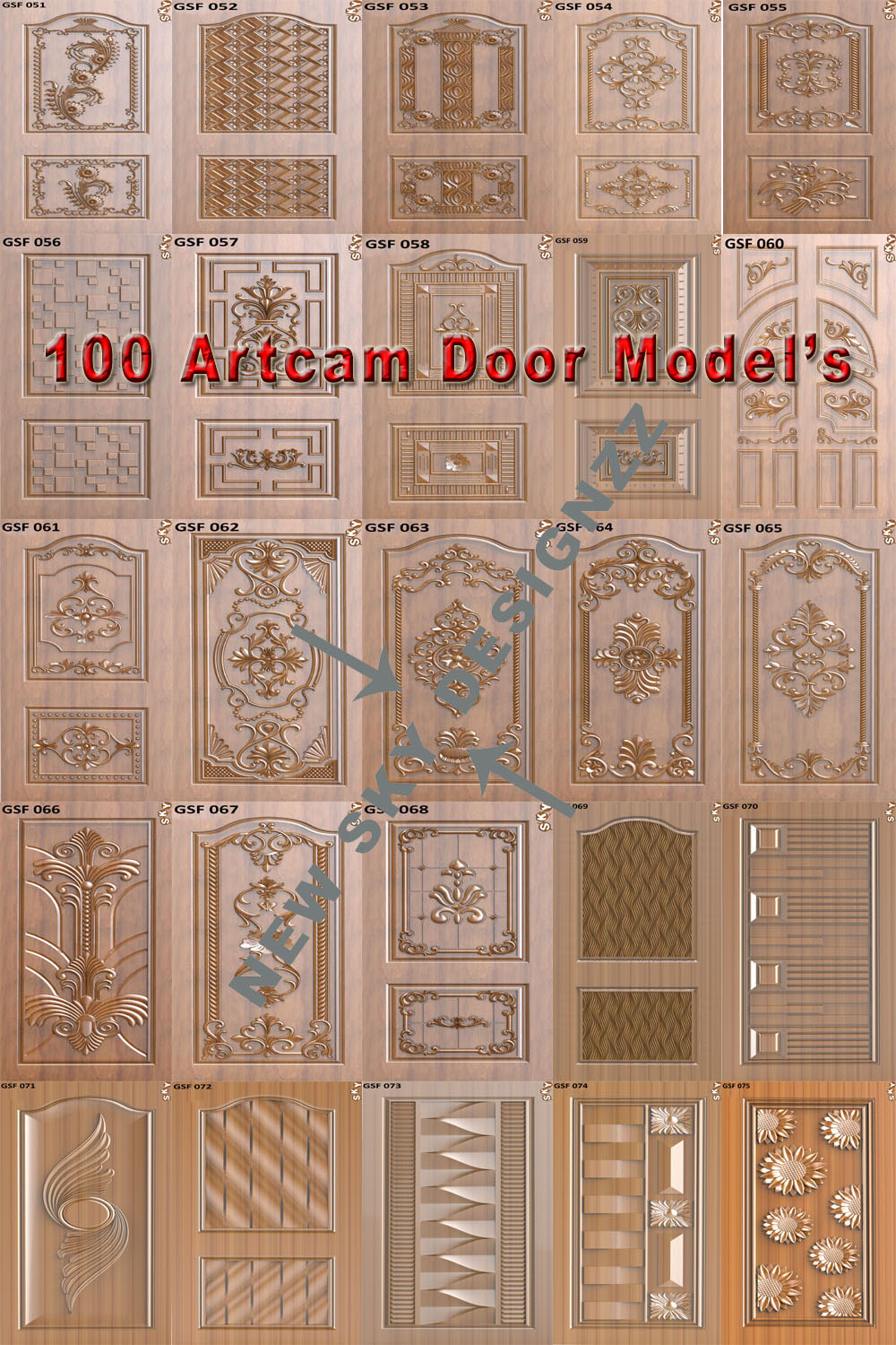 sc 1 st  newskydesignzz & 100 Elite Door Designs
